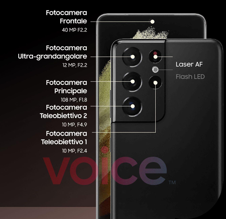 Samsung Galaxy S21 Ultra câmaras